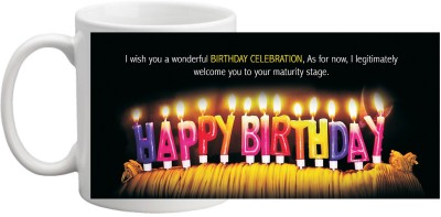 MUG HI MUG BIRTHDAY MUG 1022 Ceramic Mug