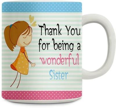 Gifts By Meeta Wonderful Sister Ceramic Mug