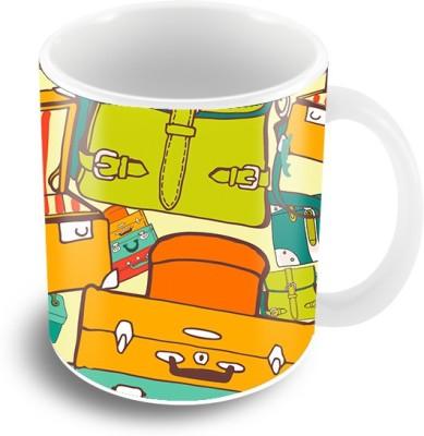 Thecrazyme Pack your Bags Ceramic Mug