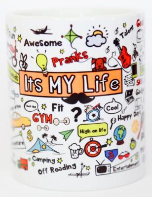 Blitzen 11oz-IMLW Ceramic Mug
