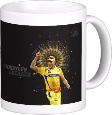 Exoctic Silver Chennai Super King IPL Series XXX 012 Ceramic Mug