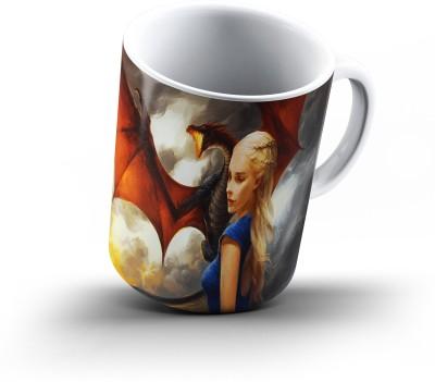 Ucard Khaleesi Dragon Game Of Thrones886 Bone China, Ceramic, Porcelain Mug