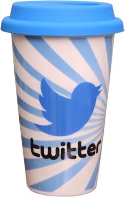 Get social tumbler TWITTER BIRD Ceramic Mug