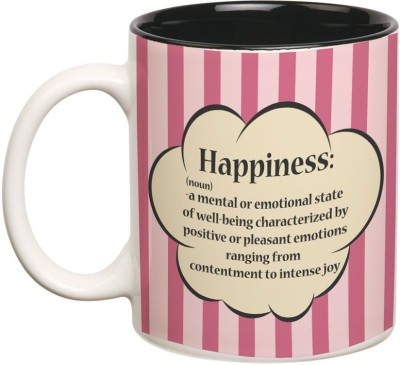 Prithish Happiness Definition Double Color Ceramic Mug