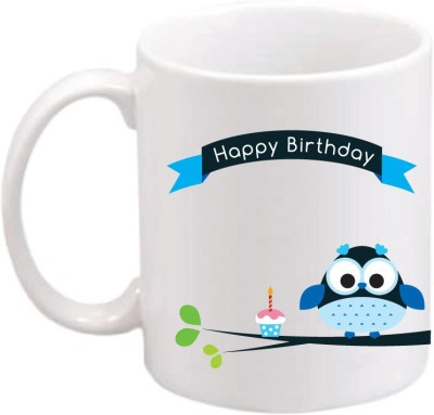 ONLY OWL Gift Happy Birthday OWL682 Magic Ceramic Mug