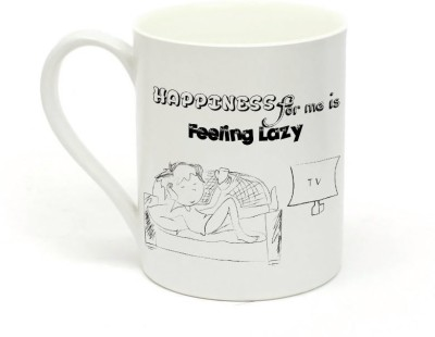 Sowing Happiness Lazy Ceramic Mug