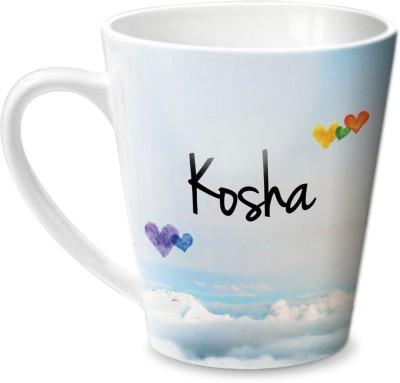 Hot Muggs Simply Love You Kosha Conical  Ceramic Mug