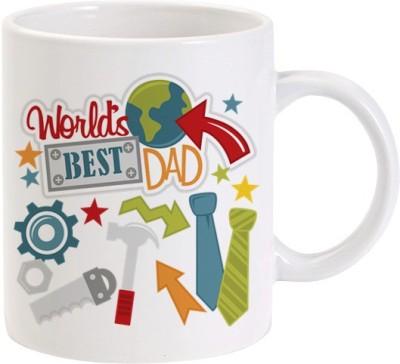 Lolprint Worlds Best Dad Ceramic Mug