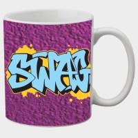 Printland Printland Swag White Coffee 350 - ml Ceramic Mug best price on Flipkart @ Rs. 249
