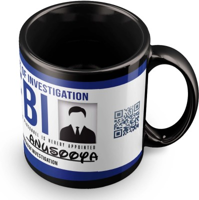 posterchacha Anusooya FBI ID Tea And Coffee Ceramic Mug(300 ml)