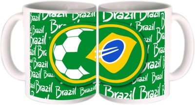 Shopkeeda FIFA 2014 FIFA Cup In Brasil Ceramic Mug