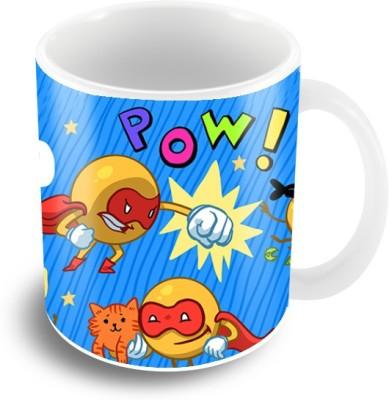 Thecrazyme Super Smiley Emoticons Coffee Ceramic Mug