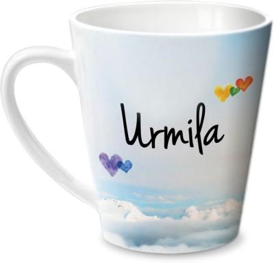 Hot Muggs Simply Love You Urmila Conical  Ceramic Mug