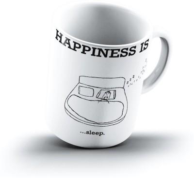 Ucard Happiness Is2163 Bone China, Ceramic, Porcelain Mug