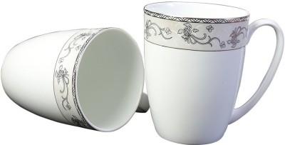Aspirationz Az-Ds180-2 Pcs  Bone China Mug