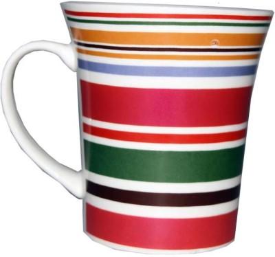 SNYTER Florocent Stripe Ceramic Mug