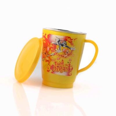 Pratha Tom and Jerry  Stainless Steel, Plastic Mug