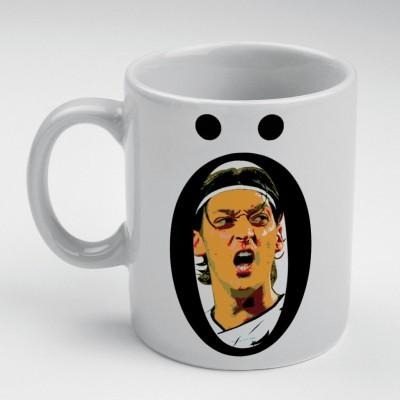 Prokyde Prokyde Ozil O black  Ceramic Mug