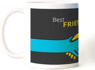 Rockmantra Holding Hands Happy Friendship Day Ceramic Mug