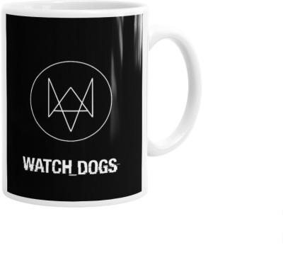 Hainaworld Watch Dogs Mark Coffee  Ceramic Mug