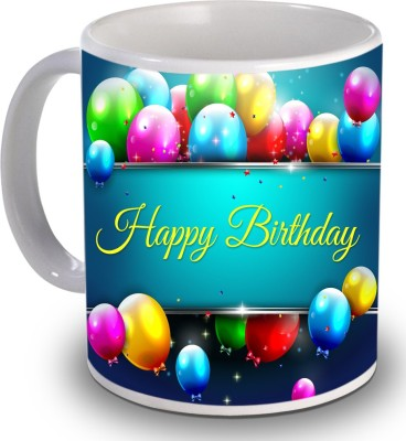 Print Helllo Happy Birthday R165 Ceramic Mug