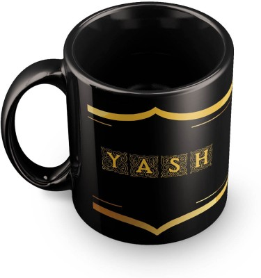 posterchacha Yash Name Tea And Coffee  For Gift And Self Use Ceramic Mug
