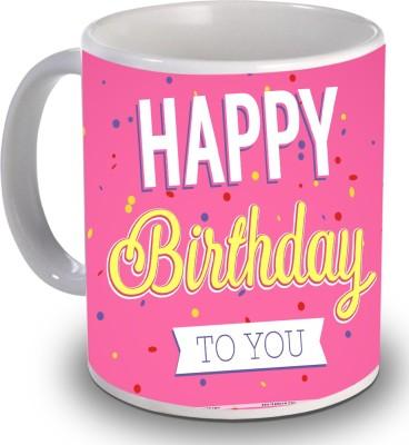 Print Helllo Happy Birthday R119 Ceramic Mug