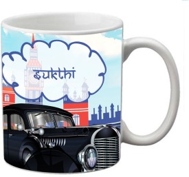 meSleep Sukthi-14120 Ceramic Mug(330 ml)