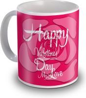 Sky Trends Happy Valentine's Day My Love Gifts For Valentine's Ceramic Mug(350 ml) best price on Flipkart @ Rs. 299