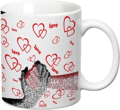 Mugwala Hold my Hand forever Love mug Ceramic Mug available at Flipkart for Rs.199