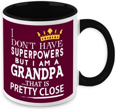 HomeSoGood  For Grandfather - My Grandpa Is My Superpower Ceramic Mug