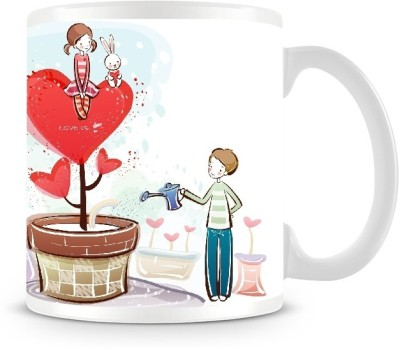 Shoprock Cute Couples Love Coffee Ceramic Mug