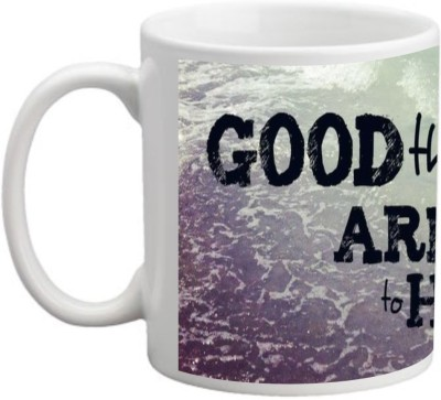 Printocare Good Things are Going to Happen Ceramic Mug