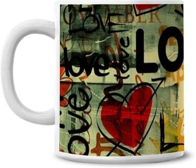 Lovely Collection Love Ceramic Mug