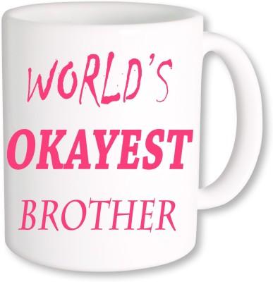 Heyworlds Rakhi Gift for Rakshabandhan 0025 Ceramic Mug