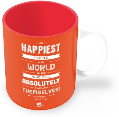 Thinkpot The Happiest People - Brian Tracy Ceramic Mug