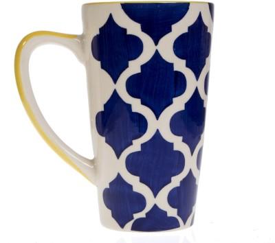 Urban Monk Creations blueyellowmug01 Ceramic Mug