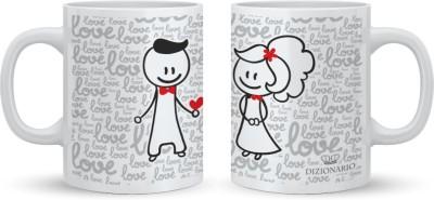 DIZIONARIO Couple A Ceramic Mug