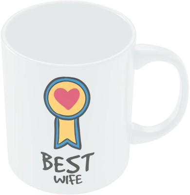 PosterGuy Best Wife Valentine,s Day Coffee Ceramic Mug
