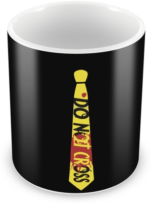 Humor Gang Police Line, Do not cross - Dexter Coffee , 12 Oz, Perfect for Coffee and Tea Lovers - Great Cup for Him or Her At Home or Office Ceramic Mug