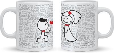 DIZIONARIO COUPLE B Ceramic Mug