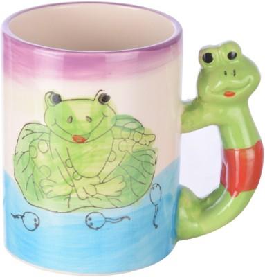 DRL Baby Frog Sketch Bone China Mug