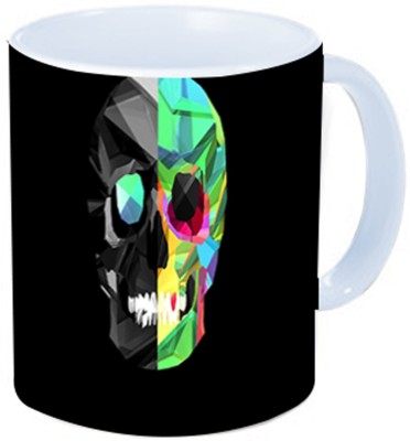 Rawkart Skull print Ceramic Mug