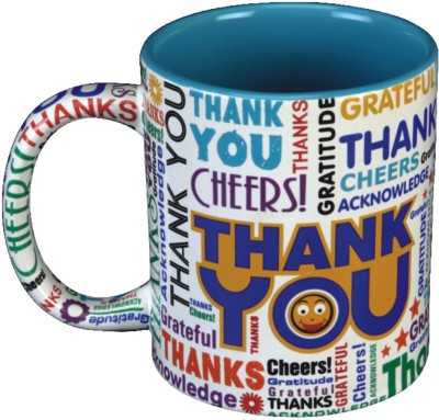 Red Moments ThankYou E Ceramic Mug
