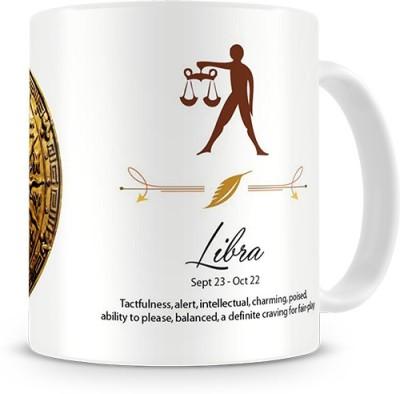 Print Haat Libra Zodiac Ceramic Mug