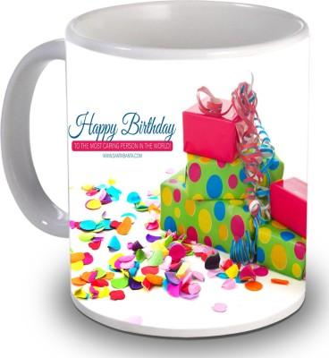 Print Helllo Happy Birthday R195 Ceramic Mug