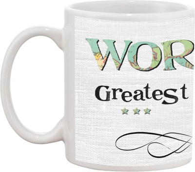 Tia creation World,s Greatest Dad Ceramic Mug