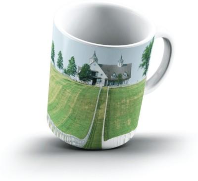 Ucard Manchester Farm Lexington Kentucky2462 Bone China, Ceramic, Porcelain Mug