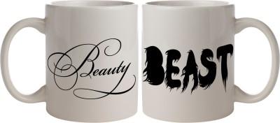 Nourish Beauty & The Beast Ceramic Mug
