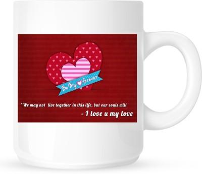 Huppme I Love You My Love  Ceramic Mug